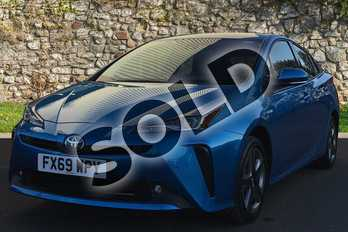 Toyota Prius 1.8 VVTi Business Edition Plus 5dr CVT AWD in Blue Crush at Listers Toyota Grantham