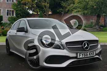 Mercedes-Benz A Class Diesel A200d AMG Line Premium 5dr Auto in Polar Silver at Mercedes-Benz of Lincoln