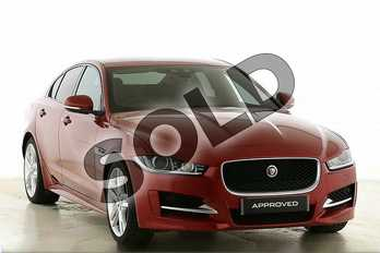 Jaguar XE Diesel 2.0d (180) R-Sport 4dr Auto in Firenze Red at Listers Jaguar Droitwich