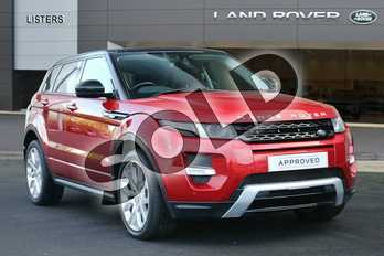 Range Rover Evoque Diesel 2.2 SD4 Dynamic 5dr Auto (9) in Firenze Red at Listers Land Rover Hereford