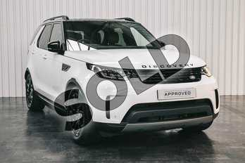 Land Rover Discovery 3.0 SDV6 (306hp) SE in Fuji White at Listers Land Rover Solihull