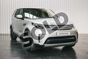 Land Rover Discovery 3.0 SDV6 HSE Luxury 5dr Auto in Indus Silver at Listers Land Rover Solihull
