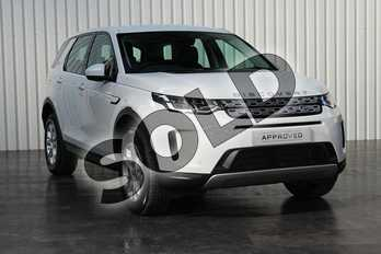 Land Rover Discovery Sport Diesel SW 2.0 D150 S 5dr Auto in Fuji White at Listers Land Rover Solihull