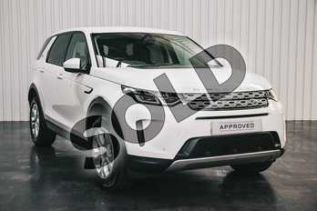 Land Rover Discovery Sport 2.0 D150 S 5dr Auto in Fuji White at Listers Land Rover Solihull