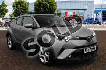 Toyota C-HR 1.8 Hybrid Icon 5dr CVT in Metal Stream at Listers Toyota Cheltenham