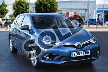 Toyota Auris 1.2T Icon TSS 5dr in Denim Blue at Listers Toyota Cheltenham