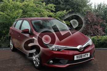 Toyota Auris 1.2T Icon Tech TSS 5dr in Red at Listers Toyota Stratford-upon-Avon