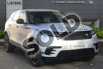 Range Rover Velar Diesel 2.0 D240 R-Dynamic SE 5dr Auto in Indus Silver at Listers Land Rover Droitwich