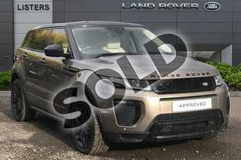 Range Rover Evoque Diesel 2.0 TD4 HSE Dynamic 5dr Auto in Kaikoura Stone at Listers Land Rover Droitwich