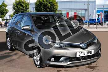 Toyota Auris 1.8 Hybrid Icon 5dr CVT in Platinum Bronze at Listers Toyota Cheltenham