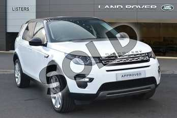 Land Rover Discovery Sport Diesel SW 2.0 TD4 180 HSE 5dr Auto in Fuji White at Listers Land Rover Hereford