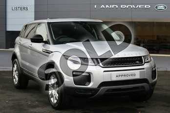 Range Rover Evoque Diesel 2.0 TD4 SE Tech 5dr Auto in Indus Silver at Listers Land Rover Hereford
