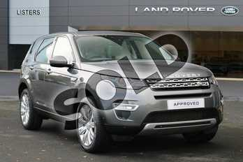 Land Rover Discovery Sport Diesel SW 2.2 SD4 HSE Luxury 5dr Auto in Corris Grey at Listers Land Rover Hereford