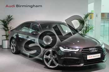 Audi A6 Special Editions 2.0 TDI Ultra Black Edition 4dr S Tronic in Oolong Grey, metallic at Birmingham Audi