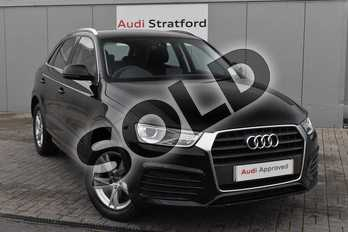 Audi Q3 Diesel 2.0 TDI Sport 5dr in Brilliant Black at Stratford Audi