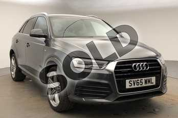 Audi Q3 Special Editions 2.0 TDI (184) Quattro S Line Plus 5dr S Tronic in Daytona Grey Pearlescent at Worcester Audi