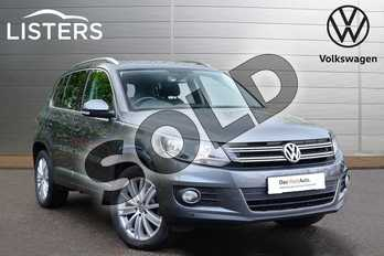 Volkswagen Tiguan Diesel 2.0 TDI BlueMotion Tech Match Edition 184 5dr DSG in Grey at Listers Volkswagen Coventry