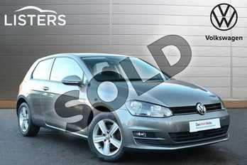Volkswagen Golf Diesel 1.6 TDI 110 Match Edition 3dr in Grey at Listers Volkswagen Coventry