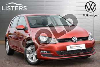 Volkswagen Golf 1.4 TSI 125 Match Edition 5dr in Carmen Red at Listers Volkswagen Leamington Spa
