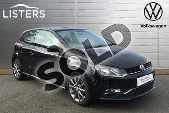 Volkswagen Polo 1.2 TSI SE Design 3dr in Deep Black at Listers Volkswagen Stratford-upon-Avon