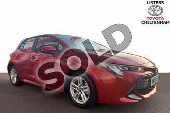 Toyota Corolla 1.2T VVT-i Icon 5dr in Scarlet Flare at Listers Toyota Cheltenham