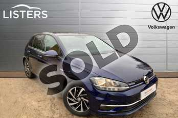 Volkswagen Golf 1.5 TSI EVO Match 5dr in Atlantic Blue at Listers Volkswagen Leamington Spa