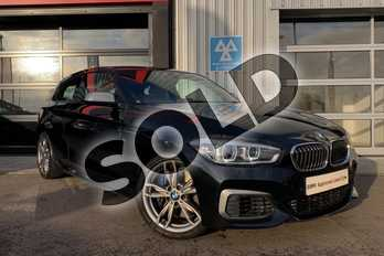 BMW 1 Series M140i 3dr (Nav) Step Auto in Black Sapphire metallic paint at Listers King's Lynn (BMW)