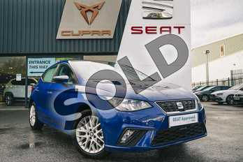 SEAT Ibiza 1.0 SE Technology (EZ) 5dr in Blue at Listers SEAT Coventry