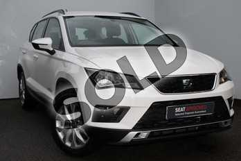 SEAT Ateca 1.0 TSI Ecomotive SE 5dr in White at Listers SEAT Worcester