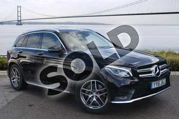 Mercedes-Benz GLC Diesel GLC 250d 4Matic AMG Line 5dr 9G-Tronic in Obsidian Black Metallic at Mercedes-Benz of Hull
