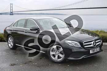 Mercedes-Benz E Class Diesel E220d SE Premium Plus 4dr 9G-Tronic in Obsidian Black Metallic at Mercedes-Benz of Hull