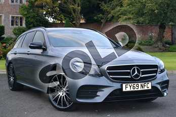 Mercedes-Benz E Class Diesel E400d 4Matic AMG Line Night Ed Prem+ 5dr 9G-Tronic in selenite grey metallic at Mercedes-Benz of Lincoln