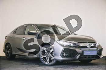 Honda Civic 1.5 VTEC Turbo Prestige 5dr in Polished Metal at Listers Honda Stratford-upon-Avon