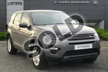 Land Rover Discovery Sport Diesel SW 2.0 TD4 180 SE Tech 5dr Auto in Corris Grey at Listers Land Rover Droitwich