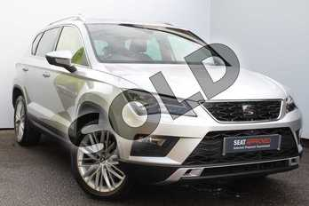 SEAT Ateca 1.4 EcoTSI Xcellence 5dr in Silver at Listers SEAT Worcester