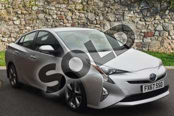Toyota Prius 1.8 VVTi Business Edition Plus 5dr CVT in Tyrol Silver at Listers Toyota Grantham