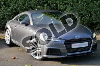 Audi TT 2.0T FSI S Line 2dr in Daytona Grey Pearlescent at Worcester Audi