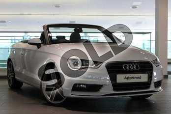 Audi A3 Diesel 2.0 TDI Sport 2dr in Glacier White, metallic at Worcester Audi