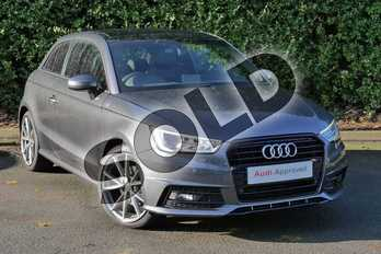 Audi A1 Special Editions 1.4 TFSI 150 Black Edition 3dr S Tronic in Daytona Grey Pearlescent at Worcester Audi