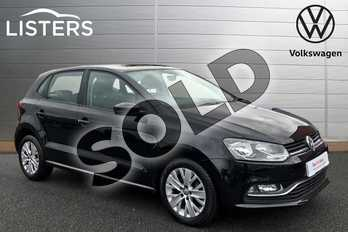 Volkswagen Polo 1.2 TSI SE 5dr in Deep Black at Listers Volkswagen Stratford-upon-Avon