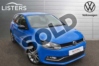 Volkswagen Polo 1.2 TSI SE Design 5dr in Mayan Blue at Listers Volkswagen Worcester