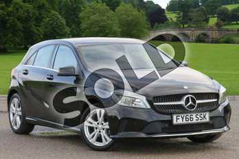 Mercedes-Benz A Class Diesel A180d Sport Executive 5dr in Cosmos Black at Mercedes-Benz of Boston