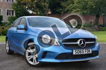 Mercedes-Benz A Class Diesel A180d Sport Executive 5dr in South Seas Blue at Mercedes-Benz of Lincoln