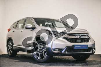 Honda CR-V 1.5 VTEC Turbo SE 5dr CVT in Lunar Silver at Listers Honda Stratford-upon-Avon