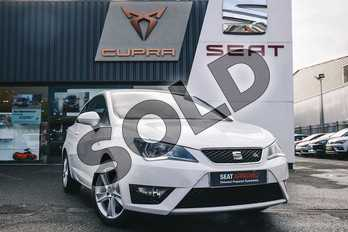 SEAT Ibiza Sport 1.2 TSI 90 FR Technology 3dr in White at Listers SEAT Coventry