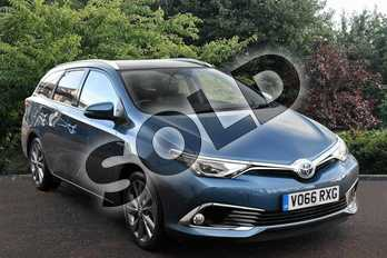Toyota Auris Touring Sport 1.8 Hybrid Excel TSS 5dr CVT in Blue at Listers Toyota Stratford-upon-Avon