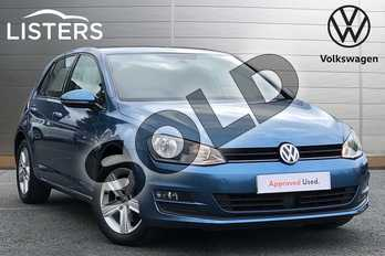 Volkswagen Golf 1.4 TSI Match 5dr in Blue at Listers Volkswagen Coventry