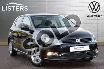 Volkswagen Polo 1.2 TSI Match 5dr in Deep black at Listers Volkswagen Leamington Spa