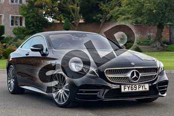 Mercedes-Benz S Class S560 AMG Line Premium 2dr Auto in Obsidian Black metallic at Mercedes-Benz of Lincoln