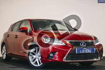 Lexus CT 200h 1.8 Premier 5dr CVT Auto in Metallic - Mesa red at Listers U Stratford-upon-Avon